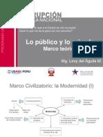 Teoría sobre los límites entre lo público y lo privado