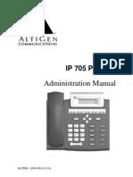 IP705 Admin