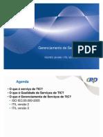 Ger. de Servicos - ITIL - IsO