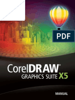 Manual CorelDRAW Graphics Suite X5