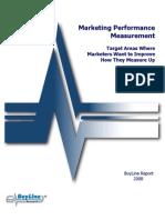 Buyline Marketing Automation Performance Measurement