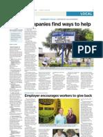 Spotlight on workplace volunteering programs