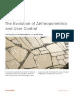 Se the Evolution of Anthropometrics and User Control