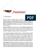 ¡Rebélate!