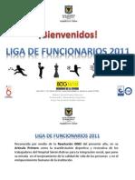 Programacion Liga de Funcionarios 2011