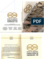 Catalogo-Concretera Caracas