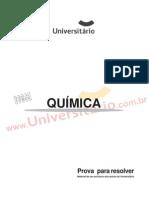 Prova UFRGS 2005 Química