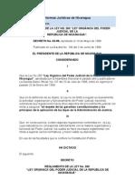 to de La Ley 260 Ley Organica Del Poder Judicial