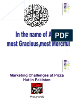 Marketing Challenges at Pizza Hut in Pakistan