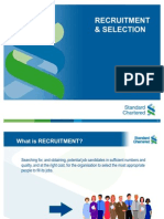 Recruitment & Selection - SCB