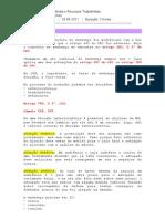 aula - Sentença Trabalhista e Recursos - Damásio - 29 04 2011