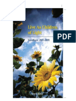 Live as Children of Light