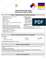Methyl Cellulose Msds