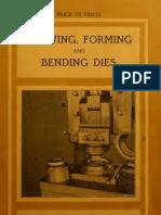 Draw Forming Dies