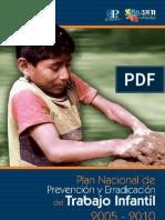 Plan Erradicación Trabajo Infantil
