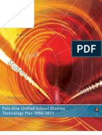Palo Alto Unified School District (CA) Technology Plan (2006-2011)