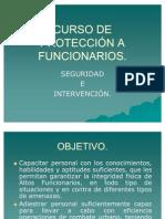 CURSO DE PROTECCIÓN A FUNCIONARIOS