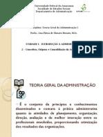 3. Conceitos, origens e consolidação da Administração