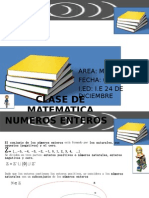 CLASE DE MATEMATICA