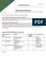 CASS30 Rev 0_CASS Scheme Certificates