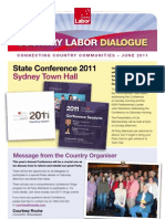 Country Labor Dialogue - June 2011