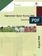Afghanistan Opium Survey 2008