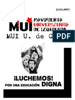 Boletín 1 MUI UCH 2011