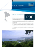 Phuket Residential Market Report May 2011 | Colliers International Thailand