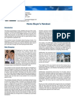 Home Buyer Handout
