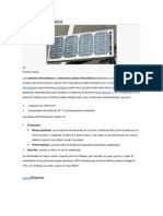 Panel Fotovoltaico