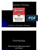 Condensed Theology, Lecture 49 (49a), Eschatology Part 05