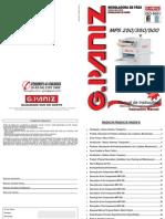 Modeladora GPANIZ 250-350-500