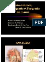 Auto Exam En, Mamografia y Ecografia de Mama