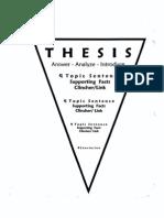 thesis pyramid