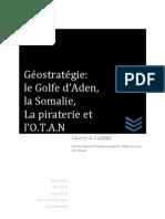 Géostratégie_ Somalie , Piraterie , Otan , Golfe d'Aden