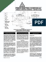 Model F446 Deluge Valve