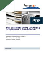 Data Loss Risks During Downsizing Feb 23 2009