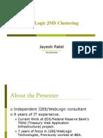 NOVAJug Weblogic JMS Clustering