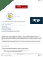 TESOL Core Certificate