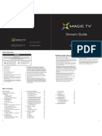 MagicTV Owners Guide English v3.0