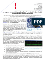 RF Engines Releases ChannelCore FlexTM - the World's Most Flexible Ultra-Wideband Channelizer Solution
