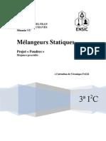 Melangeurs statiques_projet