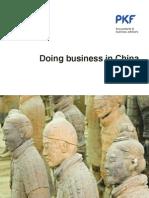 PKF - Doing Business in China