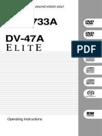 DV S733A Manual