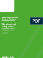 My Wheelchair is My Shoes Report - APPG for Paediatric Wheelchair Reform - Embargoed 1200 Noon 200611