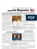 May 11, 2011 Sports Reporter
