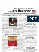 May 18, 2011 Sports Reporter