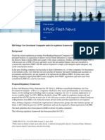 KPMG Flash News - Draft Guidelines for Core Investment Companies