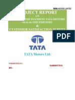 19742265 Project on TATA Motors