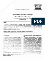 The Changing Consumer in Portugal_1995